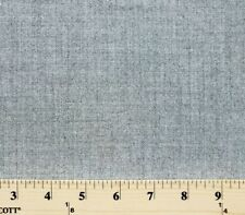 "58"" Cashmere Wool Heather Grey Gray Wool Fabric by the Yard - D378.07"