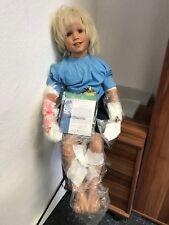 Susan Lippl Vinyl Puppe 85 cm. Top Zustand