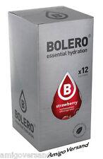 Bolero DRINKS - Strawberry (Erdbeere) - 12 Beutel für 18-36 Liter Getränk