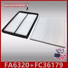 FA6320 FC36179 CA11500 CF11819 ENGINE & CABIN AIR FILTER ~ 2013-18 SANTA FE 3.3L