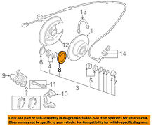 AUDI OEM 90-92 80 Quattro ABS Anti-lock Brakes-Speed Sensor Ring 443614149A