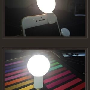 iPhone selfie USB charged ring light for photos quality no ugly awkward flash