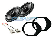 NEW PIONEER FORD F-150 250 350 TRUCK FRONT OR REAR AUDIO SPEAKERS W INSTALL KIT
