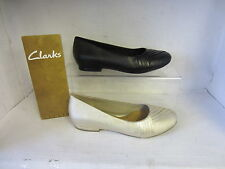 Clarks Ballerinas 100% Leather Upper Shoes for Women