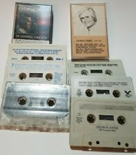 George Jones Lot 7 Cassette Tapes Country Music