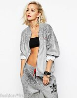 adidas Originals Women Rita Ora Supergirl Oversized Track Top Tracksuit Jacket