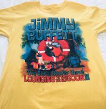 Jimmy Buffett 2012 Lounging at the Lagoon concert tour shirt. Mens M. Ships free