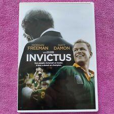 dvd Invictus avec Matt Damon et Morgan Freeman