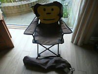 Childs Outdoor Monkey Folding Armchair - Tesco