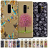 For Samsung Galaxy S9+/S9 Plus Cute Rubber Soft Clear Case Cover Skin TPU Back