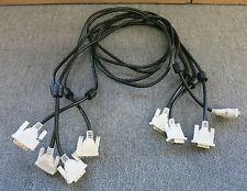 JOB LOT 4 x 16.5 piedi 5 METRI DVI-D Maschio a DVI-D maschio Single-Link Cavo