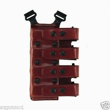 Galco QCL Quad Magazine Carrier Tan .45/10mm Single Stack Mags QCL26