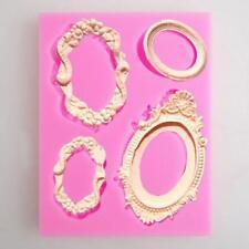 Clay Cake Decorating Silicone Cake Mold Bracelet Necklace Shaped Baking Tool HY