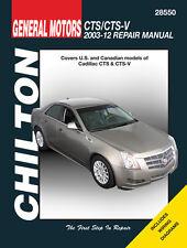 Chilton 28550 Repair Manual 2003 - 2012 Cadillac CTS/CTS-V #28550