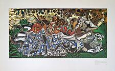 Pablo Picasso Mädchen am Ufer der Seine Poster Kunstdruck Bild 58x94cm