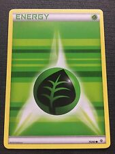 POKEMON TCG: XY GENERATIONS 4 X GRASS ENERGY 75/83 COMMON