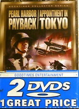 Pearl Harbor Payback  Appointment in Tokyo/December 7th - 2 Pack (DVD, 2001)