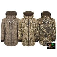 DRAKE WATERFOWL GUARDIAN ELITE EST 3 LAYER REFUGE SHELL WEIGHT CAMO PARKA