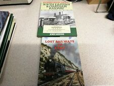More details for 2 x railway books south eastern & chatham, lost railways of kent