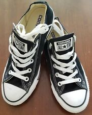 Converse All Star low top, black, M4/W6