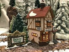 """Department 56, Dickens' Village, """"Bumpstead Nye Cloaks & Canes"""", #5808, rare"""