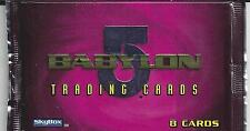 Babylon 5 Season Five 10 Sealed Packs