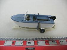 H371-0,5# WIKING H0 Anhänger mit Motorboot, 95, NEUW