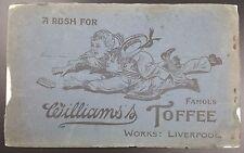 Vintage Renshaw Postcard Album of 40 Views of Manxland, Isle of Man