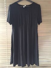 Black Asos Maternity Dress Size 12