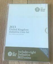 2013 United Kingdom Definitive Coin Set