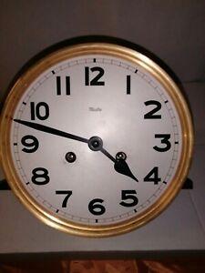 Mauthe - Uhrwerk - Messingwerk - Federwerk - mit Gong - Werk ist ok.
