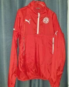 Rot Weiss Essen 1/4 Quarter Zip Rain Coat Large Training Top Not Football Shirt