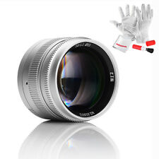 7artisans 50mm F1.1 Leica Fixed Lens For Leica M-M M6 M7 M8 M9+ Gift (Silver)