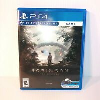 Playstation VR PS4 Robinson The Journey Video Game No Manual Great Graphics EUC