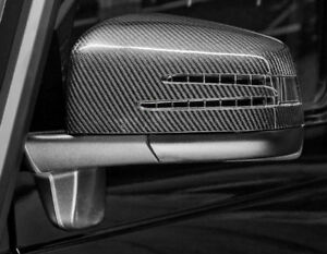 For Mercedes G Class W463 Carbon Fiber Side Wing Mirror Cover Caps