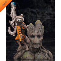 Guardians of The Galaxy Vol. 2 Baby Groot Rocket Raccoon Figure Toys Collection
