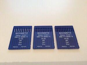 Schmetz 34R, 16x1 Cloth Sewing Machine Needles CANU 12:05  Singer 15K, 16K, 17K