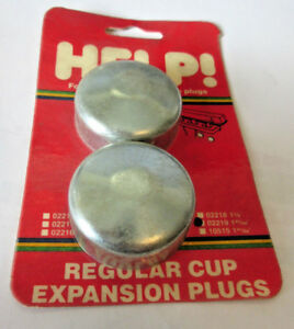 "Set of 2 Dorman Help 02219 1.7031"" Expansion Plug Frost Plug 1-45/64"" Freezeplug"