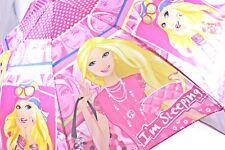 Barbie Girls Umbrella Kids Umbrella Kids Gift with Whistle
