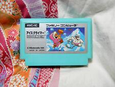 """""""ICE CLIMBER"""" Famicom FC NES Japan Ver Nintendo"""