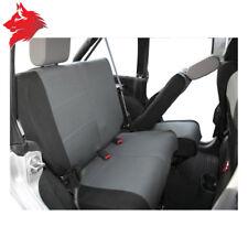 Couvre-sièges, arrière Jeep Wrangler JK 2007+, Noir & gris