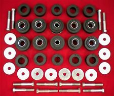 Chev El Camino 1964 - 1967 Rubber Body Mount Kit with Hardware 64 65 66 67