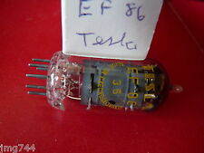 EF86 TESLA NEW OLD STOCK VALVE TUBE 1PC M16