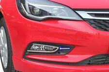 2015Up Vauxhall Opel Astra K Chrome Fog Lamp Rim Cover 2pcs. S.STEEL