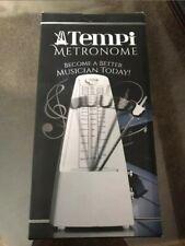 Tempi Metronome for Musicians White