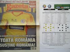 Gazeta & team Sheet LS 19.11.2013 Romania Romania-Greece Grecia