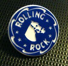 Rolling Rock Beer Lapel Pin - Vintage Latrobe Brewing Company Horse Logo Badge