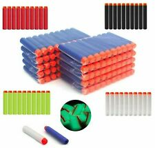 Nerf Gun Soft Refill Bullets Darts 7.2 Round Head Blasters For N-Strike Toy