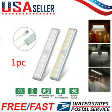 20Led Motion Sensor Closet Light Wireless Night Cabinet Usb Rechargeable Indoor