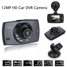 "HD 2.4"" LCD Car Vehicle DVR Dash Camera Video Recorder Night Vision G-sensor"